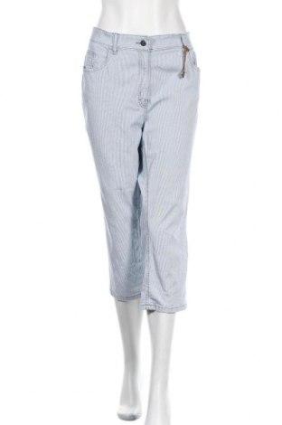 Γυναικείο παντελόνι Zerres, Μέγεθος XL, Χρώμα Μπλέ, 97% βαμβάκι, 3% ελαστάνη, Τιμή 19,18€