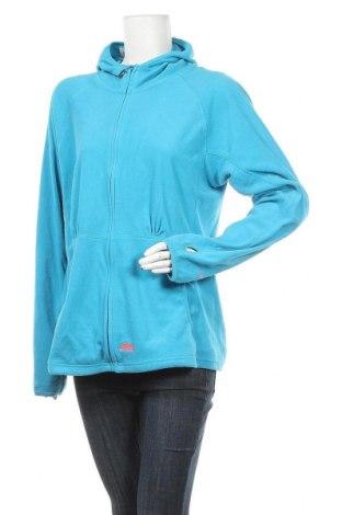Γυναικείο fleece φούτερ Trespass, Μέγεθος XXL, Χρώμα Μπλέ, Πολυεστέρας, Τιμή 19,02€