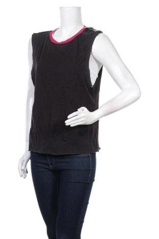 Γυναικείο αμάνικο μπλουζάκι Alcott, Μέγεθος L, Χρώμα Μαύρο, Βαμβάκι, Τιμή 13,92€