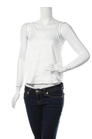 Γυναικείο αμάνικο μπλουζάκι Aware by Vero Moda, Μέγεθος XS, Χρώμα Λευκό, 97% πολυεστέρας, 3% ελαστάνη, Τιμή 4,91€