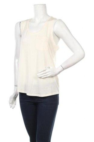 Γυναικείο αμάνικο μπλουζάκι Aware by Vero Moda, Μέγεθος L, Χρώμα Εκρού, 95% lyocell, 5% ελαστάνη, Τιμή 5,44€