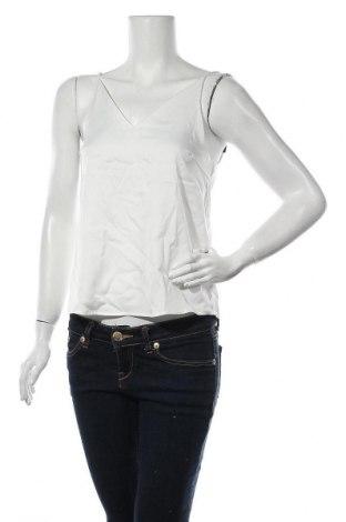 Γυναικείο αμάνικο μπλουζάκι Aware by Vero Moda, Μέγεθος S, Χρώμα Λευκό, 97% πολυεστέρας, 3% ελαστάνη, Τιμή 5,78€