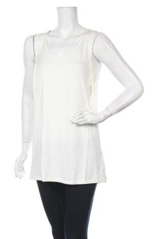 Γυναικείο αμάνικο μπλουζάκι Belly Button, Μέγεθος L, Χρώμα Λευκό, 95% βισκόζη, 5% ελαστάνη, Τιμή 20,90€