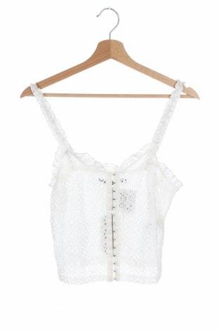 Γυναικείο αμάνικο μπλουζάκι Bik Bok, Μέγεθος S, Χρώμα Λευκό, 65% βαμβάκι, 35% πολυαμίδη, Τιμή 6,20€