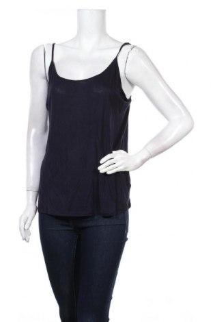 Γυναικείο αμάνικο μπλουζάκι DDP, Μέγεθος S, Χρώμα Μπλέ, Βισκόζη, Τιμή 5,49€