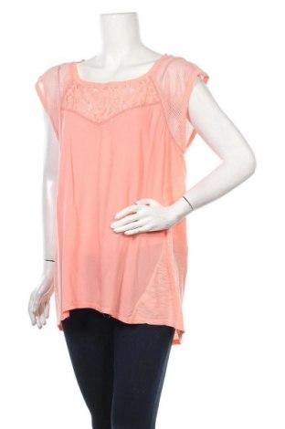 Дамска блуза DKNY Jeans, Размер XL, Цвят Розов, Вискоза, Цена 46,00лв.