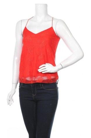Γυναικείο αμάνικο μπλουζάκι Etam, Μέγεθος XS, Χρώμα Κόκκινο, Βισκόζη, Τιμή 6,20€