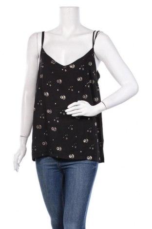 Γυναικείο αμάνικο μπλουζάκι Etam, Μέγεθος XL, Χρώμα Μαύρο, Πολυεστέρας, Τιμή 7,54€