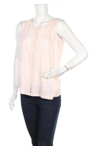 Дамски потник Etam, Размер XL, Цвят Розов, 100% лен, Цена 16,00лв.