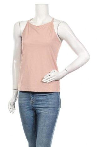 Γυναικείο αμάνικο μπλουζάκι Filippa K, Μέγεθος L, Χρώμα Ρόζ , 88% πολυαμίδη, 12% ελαστάνη, Τιμή 38,27€