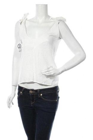 Γυναικείο αμάνικο μπλουζάκι Glamorous, Μέγεθος S, Χρώμα Λευκό, 65% βισκόζη, 35% πολυεστέρας, Τιμή 11,14€