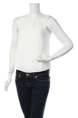 Γυναικείο αμάνικο μπλουζάκι Jacqueline De Yong, Μέγεθος XS, Χρώμα Λευκό, Πολυεστέρας, Τιμή 7,22€