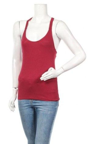 Γυναικείο αμάνικο μπλουζάκι Jennyfer, Μέγεθος S, Χρώμα Κόκκινο, 92% βισκόζη, 8% ελαστάνη, Τιμή 5,99€