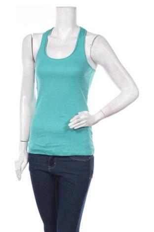 Γυναικείο αμάνικο μπλουζάκι Jennyfer, Μέγεθος S, Χρώμα Πράσινο, Βαμβάκι, Τιμή 5,99€