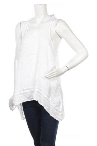 Γυναικείο αμάνικο μπλουζάκι Jennyfer, Μέγεθος M, Χρώμα Λευκό, Βισκόζη, Τιμή 5,99€