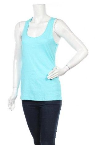 Γυναικείο αμάνικο μπλουζάκι Jennyfer, Μέγεθος L, Χρώμα Μπλέ, Βαμβάκι, Τιμή 5,76€