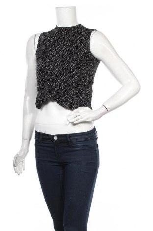 Γυναικείο αμάνικο μπλουζάκι Jennyfer, Μέγεθος XXS, Χρώμα Μαύρο, Βισκόζη, Τιμή 5,99€