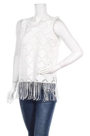 Γυναικείο αμάνικο μπλουζάκι Jennyfer, Μέγεθος L, Χρώμα Λευκό, 95% πολυεστέρας, 5% ελαστάνη, Τιμή 5,32€