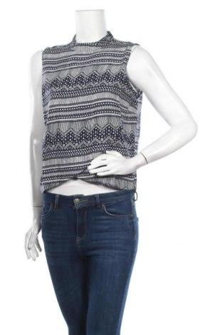 Γυναικείο αμάνικο μπλουζάκι Jennyfer, Μέγεθος M, Χρώμα Μπλέ, Βισκόζη, Τιμή 6,20€