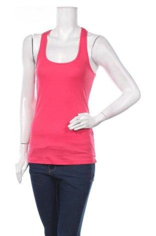Γυναικείο αμάνικο μπλουζάκι Jennyfer, Μέγεθος S, Χρώμα Ρόζ , Βαμβάκι, Τιμή 5,99€