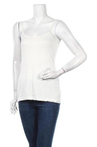 Γυναικείο αμάνικο μπλουζάκι La Fee Maraboutee, Μέγεθος M, Χρώμα Εκρού, 92% βισκόζη, 8% ελαστάνη, Τιμή 10,04€