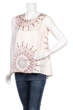 Γυναικείο αμάνικο μπλουζάκι La Fee Maraboutee, Μέγεθος M, Χρώμα  Μπέζ, Πολυεστέρας, Τιμή 8,96€