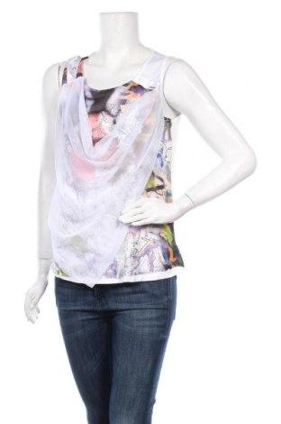 Γυναικείο αμάνικο μπλουζάκι La Mode Est A Vous, Μέγεθος S, Χρώμα Λευκό, 92% βισκόζη, 8% ελαστάνη, Τιμή 7,98€