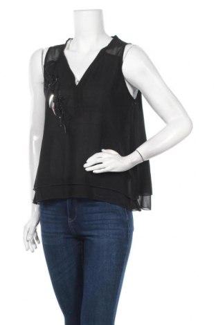 Γυναικείο αμάνικο μπλουζάκι La Mode Est A Vous, Μέγεθος M, Χρώμα Μαύρο, Πολυεστέρας, Τιμή 5,76€