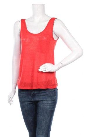 Γυναικείο αμάνικο μπλουζάκι Lefties, Μέγεθος M, Χρώμα Κόκκινο, Πολυεστέρας, Τιμή 5,32€