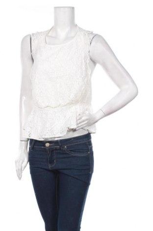 Γυναικείο αμάνικο μπλουζάκι Lefties, Μέγεθος M, Χρώμα Λευκό, Πολυεστέρας, Τιμή 5,76€