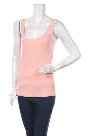 Γυναικείο αμάνικο μπλουζάκι Lefties, Μέγεθος M, Χρώμα Ρόζ , Βαμβάκι, Τιμή 5,32€