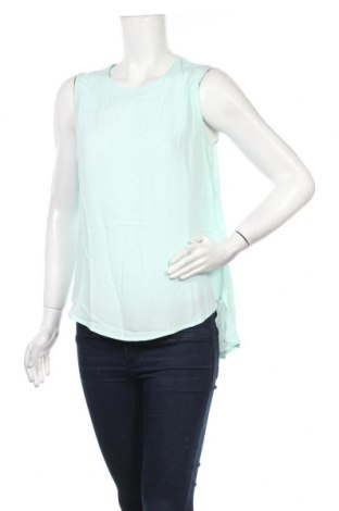 Γυναικείο αμάνικο μπλουζάκι Lefties, Μέγεθος M, Χρώμα Μπλέ, Βισκόζη, Τιμή 5,32€