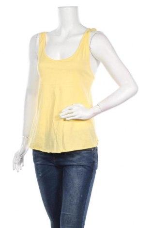 Γυναικείο αμάνικο μπλουζάκι Lefties, Μέγεθος M, Χρώμα Κίτρινο, 100% βαμβάκι, Τιμή 5,32€