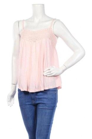 Γυναικείο αμάνικο μπλουζάκι Lefties, Μέγεθος M, Χρώμα Ρόζ , Βαμβάκι, Τιμή 6,20€