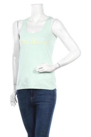 Γυναικείο αμάνικο μπλουζάκι Little Marcel, Μέγεθος M, Χρώμα Πράσινο, Βαμβάκι, Τιμή 6,20€
