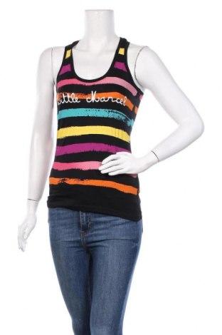 Γυναικείο αμάνικο μπλουζάκι Little Marcel, Μέγεθος XXS, Χρώμα Πολύχρωμο, Βαμβάκι, Τιμή 5,76€