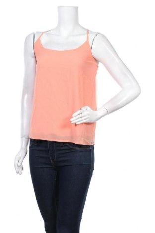 Γυναικείο αμάνικο μπλουζάκι Little Marcel, Μέγεθος M, Χρώμα Πορτοκαλί, 100% πολυεστέρας, Τιμή 6,43€
