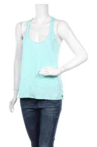 Γυναικείο αμάνικο μπλουζάκι Little Marcel, Μέγεθος M, Χρώμα Μπλέ, Βαμβάκι, Τιμή 5,76€