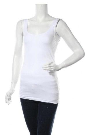 Γυναικείο αμάνικο μπλουζάκι Mamalicious, Μέγεθος M, Χρώμα Λευκό, 93% πολυαμίδη, 7% ελαστάνη, Τιμή 4,76€