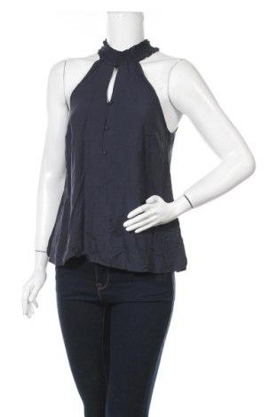 Γυναικείο αμάνικο μπλουζάκι Mint & Berry, Μέγεθος S, Χρώμα Μπλέ, Βισκόζη, Τιμή 6,20€