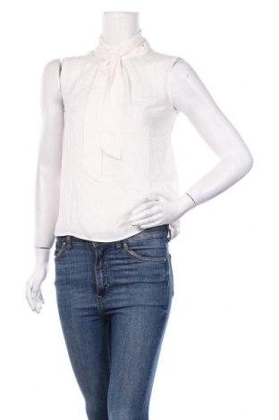 Γυναικείο αμάνικο μπλουζάκι Mint & Berry, Μέγεθος S, Χρώμα Λευκό, 100% πολυεστέρας, Τιμή 6,43€