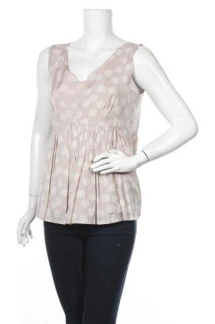 Γυναικείο αμάνικο μπλουζάκι Myrine, Μέγεθος L, Χρώμα  Μπέζ, Βισκόζη, Τιμή 8,35€