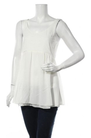 Γυναικείο αμάνικο μπλουζάκι Myrine, Μέγεθος M, Χρώμα Εκρού, Πολυεστέρας, Τιμή 8,25€
