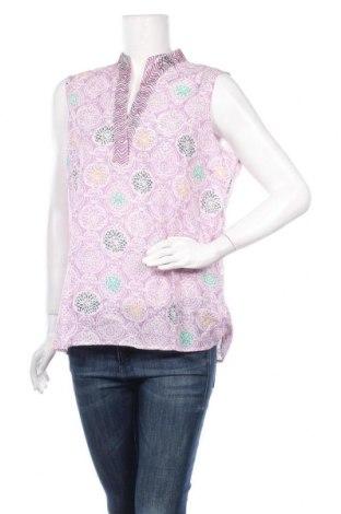 Γυναικείο αμάνικο μπλουζάκι Nitya, Μέγεθος L, Χρώμα Βιολετί, 55% βισκόζη, 45% βαμβάκι, Τιμή 8,18€