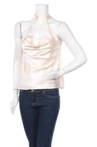 Γυναικείο αμάνικο μπλουζάκι Noisy May, Μέγεθος S, Χρώμα Εκρού, Πολυεστέρας, Τιμή 6,70€