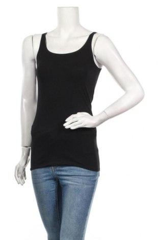 Γυναικείο αμάνικο μπλουζάκι Schiesser, Μέγεθος S, Χρώμα Μαύρο, 95% βαμβάκι, 5% ελαστάνη, Τιμή 6,27€