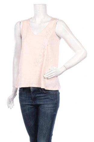 Γυναικείο αμάνικο μπλουζάκι Stefanel, Μέγεθος S, Χρώμα Ρόζ , Βαμβάκι, Τιμή 11,74€