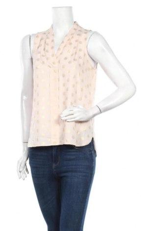 Γυναικείο αμάνικο μπλουζάκι Un Deux Trois, Μέγεθος M, Χρώμα Ρόζ , Πολυεστέρας, Τιμή 5,34€