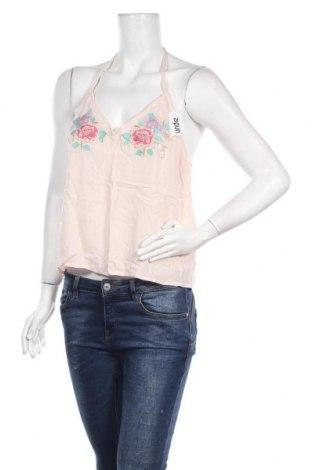 Γυναικείο αμάνικο μπλουζάκι Undiz, Μέγεθος L, Χρώμα Ρόζ , Βισκόζη, Τιμή 4,04€