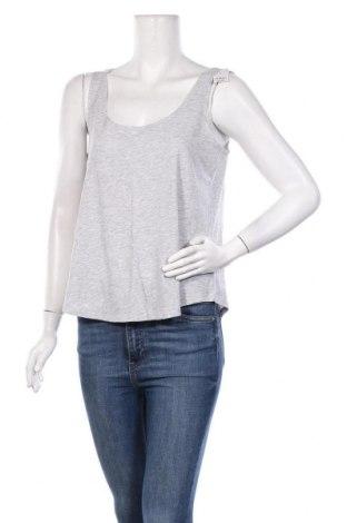 Γυναικείο αμάνικο μπλουζάκι Undiz, Μέγεθος L, Χρώμα Γκρί, 95% βαμβάκι, 5% βισκόζη, Τιμή 4,19€